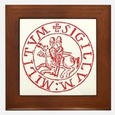 Knights Templar Framed Tile