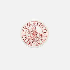 Knights Templar Mini Button