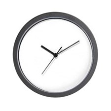 There Is No Second Place Wall Clock