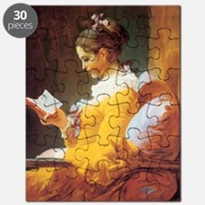 Jean-Honore Fragonard The Reader Puzzle