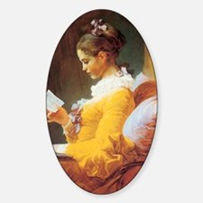 Jean-Honore Fragonard The Reader Decal