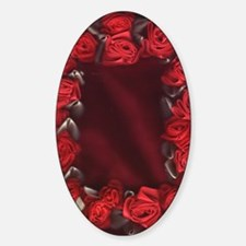 Bed of Roses, Red Ribbon Decal