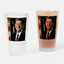 reagan30 Drinking Glass