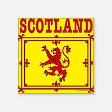 """ScotlandTradWomensAllOverTe Square Sticker 3"""" x 3"""""""