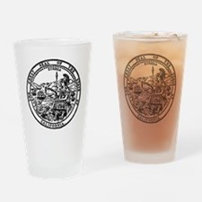 great seal Ca. Drinking Glass