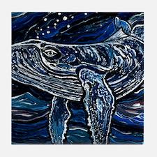 Humpback Whale Tile Coaster