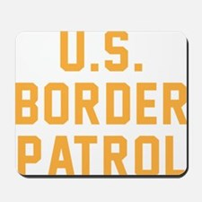 U.S. Border Patrol Mousepad