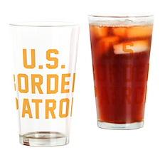 U.S. Border Patrol Drinking Glass