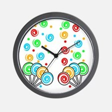 Sweet Lollipops Wall Clock