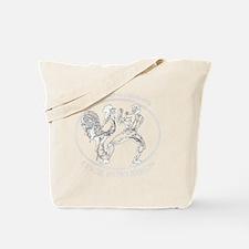 White GGKP Tote Bag