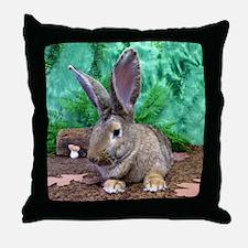 Fezzik in the Woods-1 full Throw Pillow