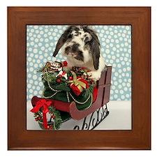Dudley in Winter Sleigh-Full Framed Tile