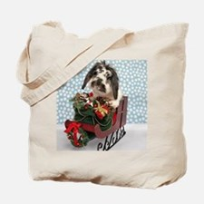 Dudley in Winter Sleigh-Full Tote Bag