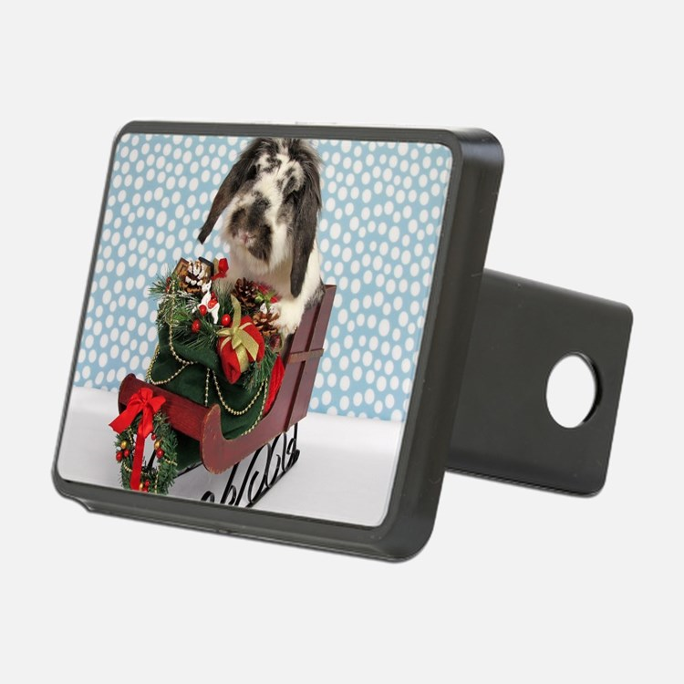 Dudley in Winter Sleigh-Fu Hitch Cover