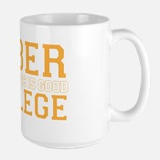 faber college Large Mug