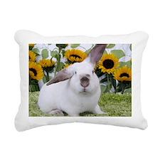 Presto with Sunflowers-1 Rectangular Canvas Pillow