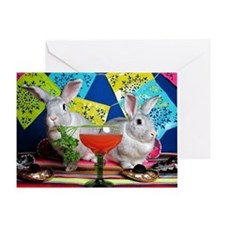 Tiggy and Beatrix Celebrate Cinco de Greeting Card