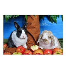 Mac and Dinah Apple picki Postcards (Package of 8)
