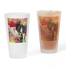 Skyler and Olivia-Valentines-Full Drinking Glass