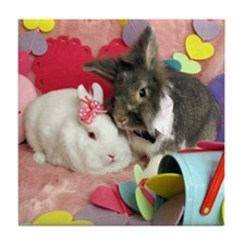 Skyler and Olivia-Valentines-Full Tile Coaster