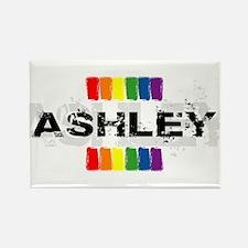 pride ashley Rectangle Magnet