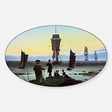 Caspar David Friedrich Stages of Li Decal