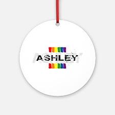 pride ashley Ornament (Round)