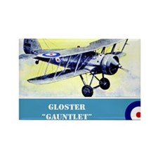 Gloster Gauntlet Rectangle Magnet
