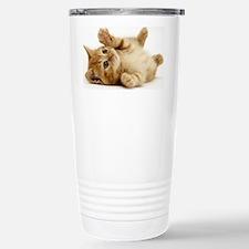 Orange kitten Travel Mug