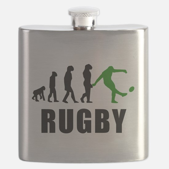 Rugby Kick Evolution (Green) Flask