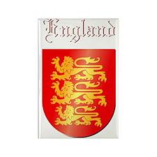 England COA  w Rectangle Magnet
