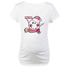 Snow woman Smiley Shirt