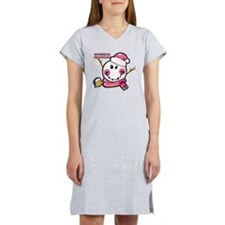 Snow woman Smiley Women's Nightshirt