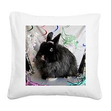 Hopes New Year Celebration-Fu Square Canvas Pillow