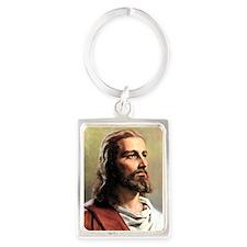 Jesus Portrait Keychain