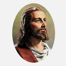 Jesus Oval Ornament
