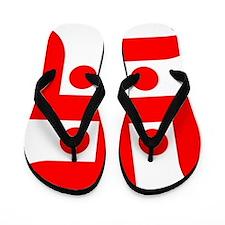 swastika Flip Flops