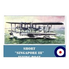 Short Singapore III Postcards (Package of 8)