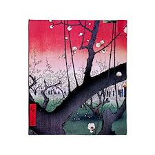 Hiroshige Kameido Throw Blanket