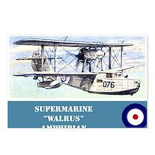 Supermarine Walrus Postcards (Package of 8)