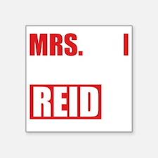 """CMmrsReid1B Square Sticker 3"""" x 3"""""""