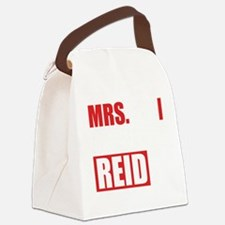 CMmrsReid1B Canvas Lunch Bag