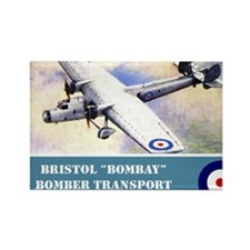 Bristol Bombay Rectangle Magnet