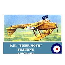 De Havilland Tiger Moth Postcards (Package of 8)
