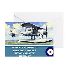 Fairey Swordfish Greeting Card