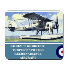 Fairey Swordfish Mousepad