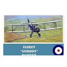Fairey Gordon Postcards (Package of 8)