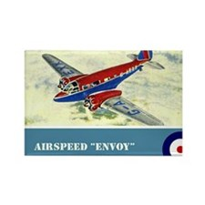 Airspeed Envoy Rectangle Magnet