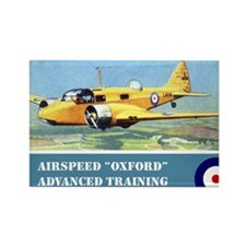 Airspeed Oxford Rectangle Magnet