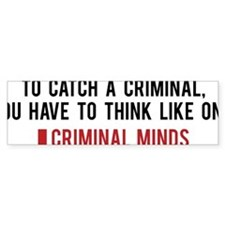 CMthink1A Bumper Sticker